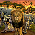 African Beasts by Andrew Farley