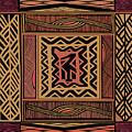 African Bird Collage by Vagabond Folk Art - Virginia Vivier