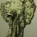 African Elephant by Kelly Eberhardt