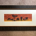African Elephant Tribal Art by Andrew Beetham