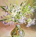 African Lilies Arrangement by David Lloyd Glover
