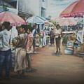 African Market by Kehinde Akanbi