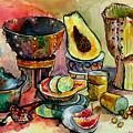 African Still Life by Yelena Tylkina