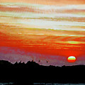 African Sunset by CHAZ Daugherty