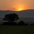 African Sunset by Randy Gebhardt