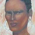 African Warrior by Judie Giglio