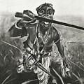 African Warrior by Kathleen Fitzpatrick
