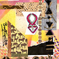 Afro Collage - F by Everett Spruill
