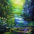 After Monet by Pol Ledent