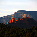 After Sunset In Sedona by Susanne Van Hulst