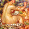After The Bath 1912 by Renoir PierreAuguste