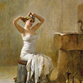 After The Bath by Theodoros Rallis