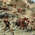 After The Raid by Rudolf Otto von Ottenfeld