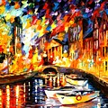 After The River Turns by Leonid Afremov