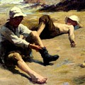 After The Swim by Harold Harvey