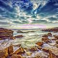 Afternoon At Crystal Cove by Rick Berk