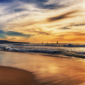 Afternoon At The Beach by Michael Hope