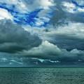 Afternoon Clouds In Key West, Florida by Bob Slitzan