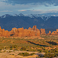 Afternoon In Arches National Park by Aaron Spong