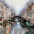 Afternoon In Venice IIi by Ronald Bolokofsky