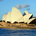 Afternoon Light On The Sydney Opera House by Carla Parris