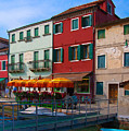 Afternoon Stroll In Murano  by Sandra Bronstein