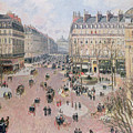 Afternoon Sun In Winter by Camille Pissarro