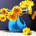 Afternoon Sunflowers by Sharon Nelson-Bianco