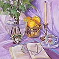 Afternoon Tea by Laura Lee Zanghetti