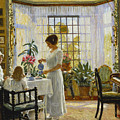 Afternoon Tea by Paul Fischer