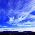 Afton Sky And Mountains I by Richard Singleton