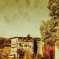 Aged Australia Countryside Scene by Jorgo Photography - Wall Art Gallery