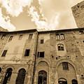 Aged San Gimignano by Terry Baldridge