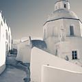 Agios Minas Santorini Bw by Eva Tziampazi Rendl