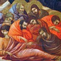 Agony In The Garden Fragment 1311 by Duccio