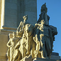 Agriculture Allegorie Monument To The Constitution Of 1812 Cadiz Spain by Pablo Avanzini