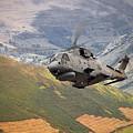 Agusta Merlin Flies The Loop  by Rob Lester