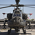 Ah-64d Apcahe Longbow At Pinal Airpark by Terry Moore