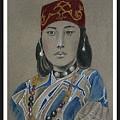 Ainu Woman -- Portrait Of Ethnic Asian Woman by Jayne Somogy