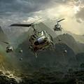 Air Assault by Peter Van Stigt