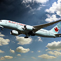 Air Canada 787 Dreamliner by J Biggadike