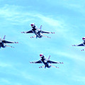 Air Force Thunderbirds by Mark Andrew Thomas