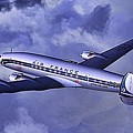 Air France Connie by James Weatherly