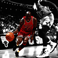 Air Jordan On Shaq by Brian Reaves