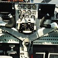 Aircraft Airplane Control Panel by R Muirhead Art