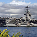 Aircraft Carrier Uss Abraham Lincoln by Stocktrek Images