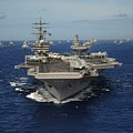 Aircraft Carrier Uss Ronald Reagan by Everett