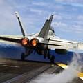 aircraft military F 18 Hornet by R Muirhead Art