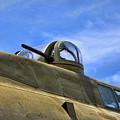 Aircraft Top Machine Gun by Chuck Kuhn
