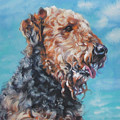 Airedale Terrier by Lee Ann Shepard
